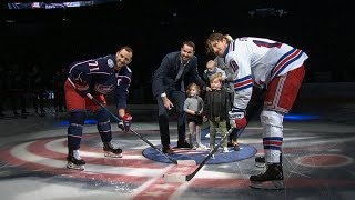 Columbus honors Rick Nash two days after announcing retirement