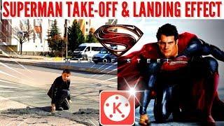 ANNE BENİM UÇMAM GEREK - Kinemaster Best Superman Take Off & Landing Effect