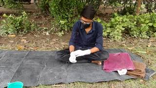 Better technique of Direct Seeded Rice (धान की सीधी बुवाई) by KARAN RATHORE from IAS BHU