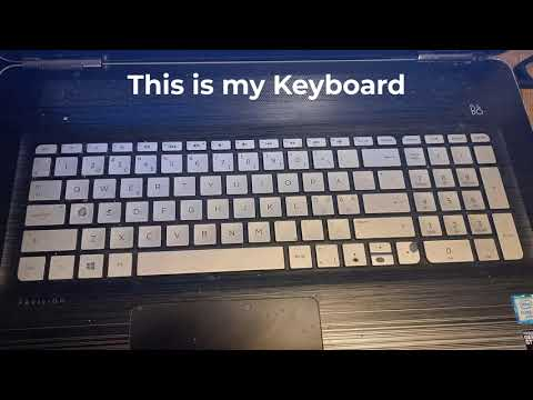 keyboard test for HP support