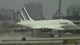 Concorde Rainy Departure from Ft Lauderdale!