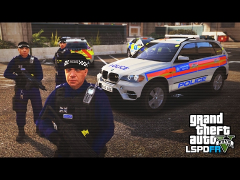 GTA 5 LSPDFR - LONDON'S ARMED RESPONSE - The British way #86