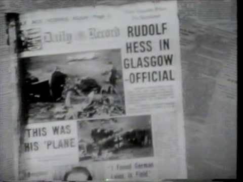 Rudolf Hess to Scotland (May 1941)