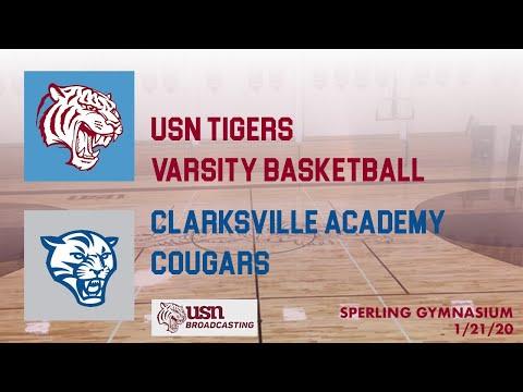 USN vs. Clarksville Academy, 1/21/20