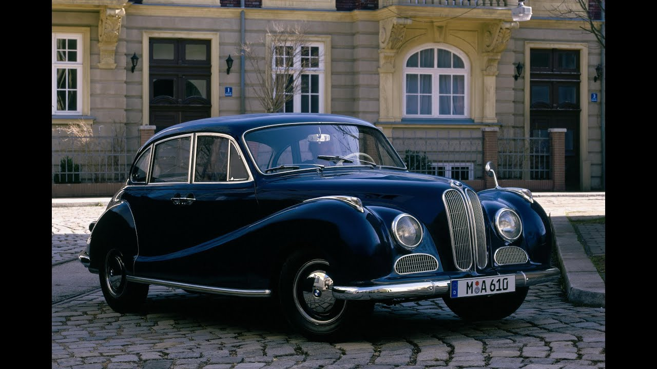 BMW 502 V8 (1954-1961) - YouTube