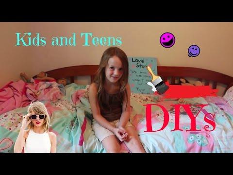 Kids and Teens DIY ~ Room Decor