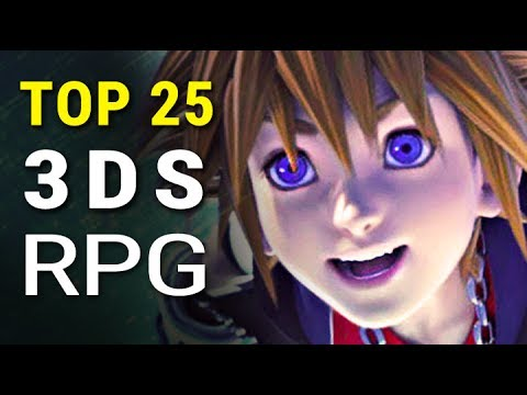 Top 25 Best 3DS RPG Games