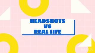 Headshots Vs. Real Life (Catfish)