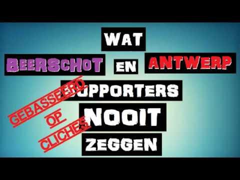 Wat Beerschot en Antwerp supporters NOOIT zeggen.