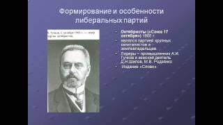 Политические партии в России на рубеже XIX – XX веков