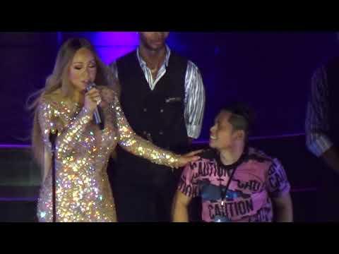 Mariah Carey Nakipag-DUET sa isang Pinoy Fan  in Manila Philippines 2018