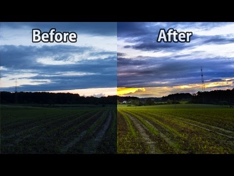 How to Turn a Boring Photo Into A Great Picutre With Lightroom #05 - Lightroom 6 CC Editing Tutorial