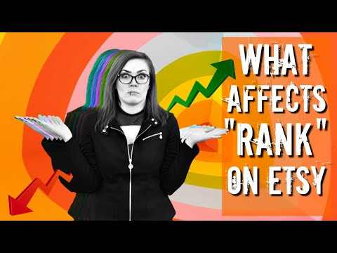 """What REALLY Contributes To """"Rank"""" On Etsy? - How To Do Etsy SEO In 2020"""