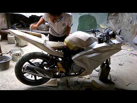 Yamaha old vixion upgrade costum R25, by : 46 MOTOR (Sentul - BOGOR)