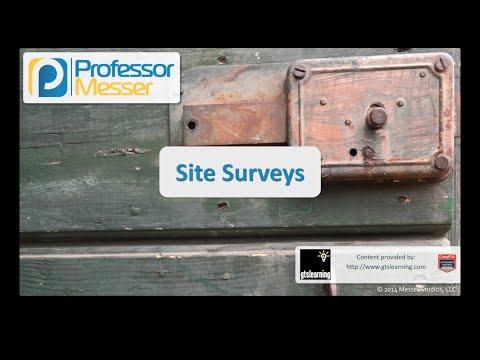 Site Surveys - CompTIA Security+ SY0-401: 1.5