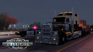 FLORIDA HIGHWAY PATROL! / Los Angeles (CA) - Nogales (AZ)   American Truck Simulator #4
