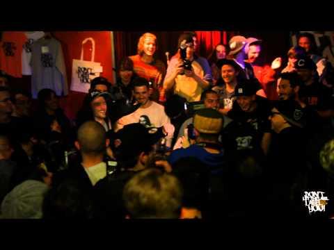Brian Damage vs Doktor Dave // DLTLLY RapBattle (Berlin) // 2013
