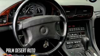 Video 1991 BMW  8 Series 850i - Palm Desert Auto Sales download MP3, 3GP, MP4, WEBM, AVI, FLV September 2018