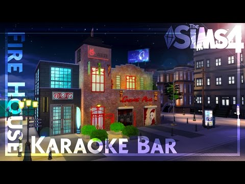 Karaoke Fire-house ~ The Sims 4 Speed Build