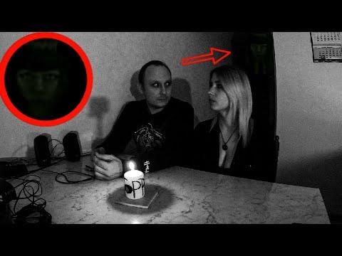 Страшное видео с призраком   В нашей квартире живёт злой дух   Scary video with a ghost