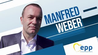 EU Presidential Debate: lead candidate Manfred Weber (EPP)