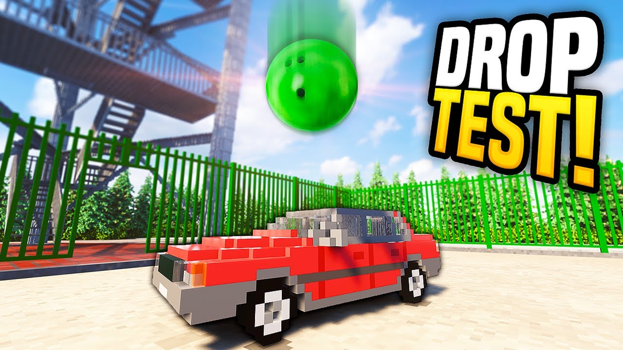 Download Dropping a BOWLING BALL Onto a CAR - Teardown Mods Gameplay