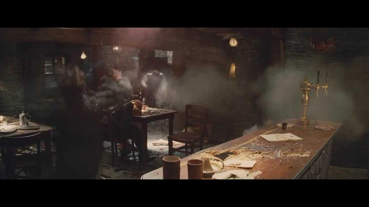 Inglorious Bastards Bar Shootout - YouTube