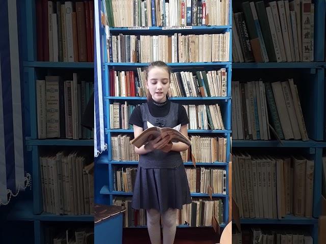 Изображение предпросмотра прочтения – ДианаМельникова читает произведение «Есть в осени первоначальной...» Ф.И.Тютчева
