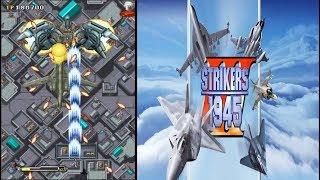 Arcade Playthrough #88: Strikers 1945  III  【Longplays Land】