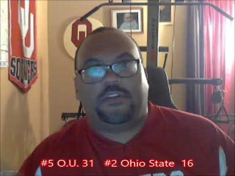 "#5 O.U. 31  #2 Ohio State 16 - ""The"" Revenge"