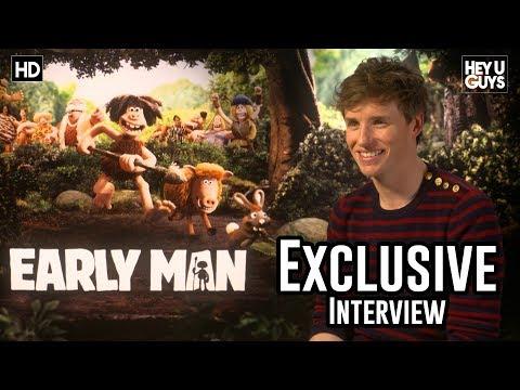 Eddie Redmayne  Early Man Aardman Exclusive