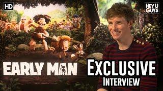 Eddie Redmayne   Early Man (Aardman) Exclusive Interview
