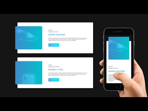 Build A Responsive News Blog Post Card | HTML And CSS Tutorial