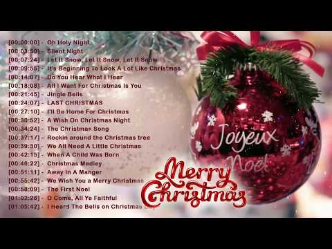 Best Christmas Songs 2018  Traditional English Christmas Songs Of All Time