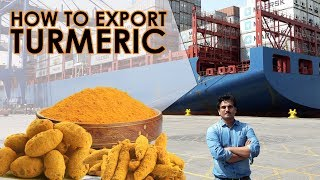 How to export turmeric, saffron and ginger from India