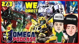 Transformers Movies Directed By DiamondBolt & Comodin Cam (Part 2) - TF Omega Podcast #8