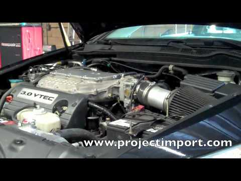 Project Import: Honda Accord W/ Acura TL-S J35A8 Swap Dyno Tune