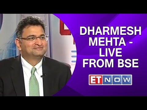Dharmesh Mehta - Live from Bombay Stock Exchange