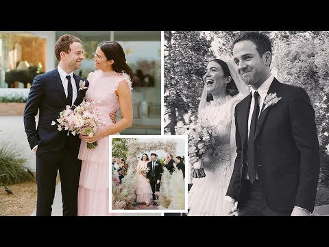 Mandy Moore blissfully shares sweet photos from her wedding with husband Taylor Goldsmith