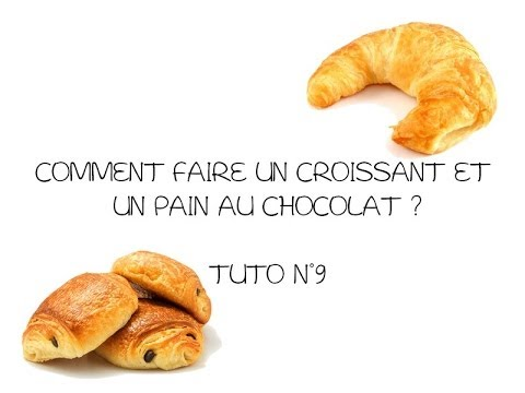 fimo tuto n 9 comment faire un croissant pain au chocolat youtube. Black Bedroom Furniture Sets. Home Design Ideas