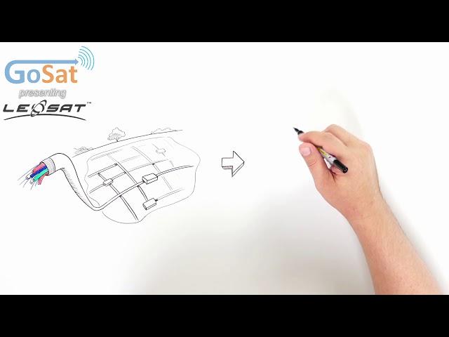 GoSat presenting LeoSat