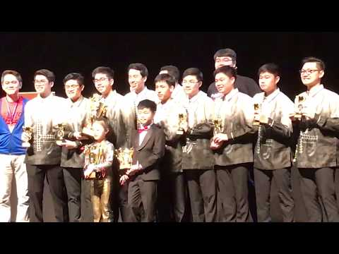 De Novo: Overall Music Champions at the Asia Pacific Arts Festival 2017