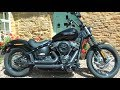 2018 Street Bob with Short Shots, Ride & Review. Harley-Davidson Milwaukee 8 107