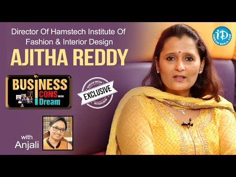Ajitha Reddy Director Of Hamstech Institute Of Fashion & Interior Design | Business Icons #8
