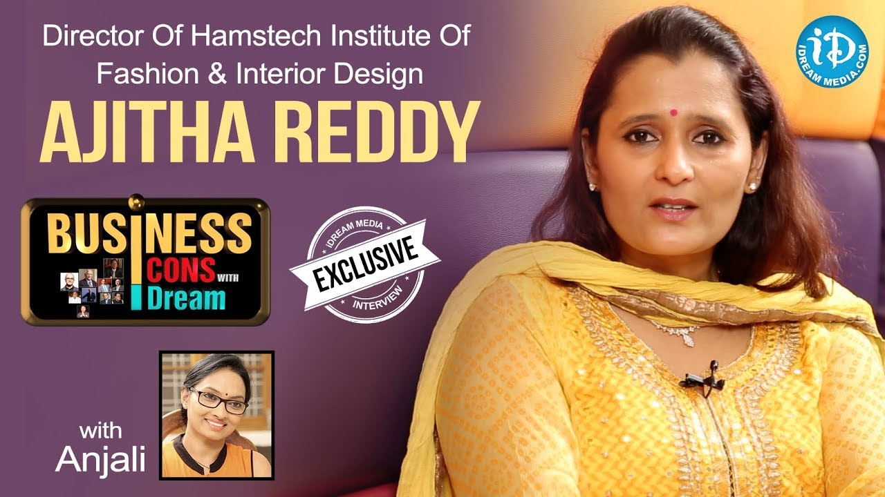 Ajitha Reddy About Courses Offered In Hamstech Business Icons With Idream Youtube