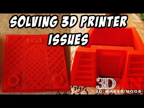 Troubleshooting 3D Printer Issues