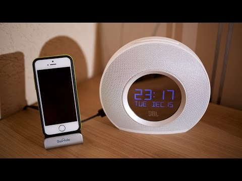 JBL Horizon: Unboxing Review - Digital Bluetooth FM Alarm Clock w/USB chargers
