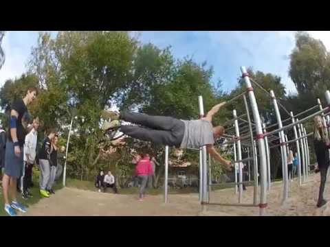 Street workout denmark - Vejle Barpark opening