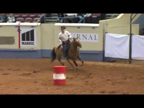 Steve Meadows Winner of Pro Horseman's Challenge
