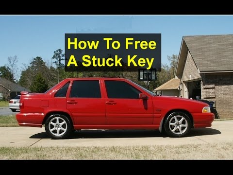 Key stuck in ignition Volvo S70, V70, 850 – Auto Repair Series